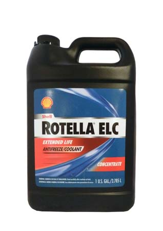 Антифриз концентрированный, красный SHELL Rotella ELC Extended Life Coolant Concentrate (3,785л)
