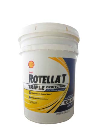 Моторное масло SHELL Rotella T Triple Protection SAE 15W-40 (18,90л)