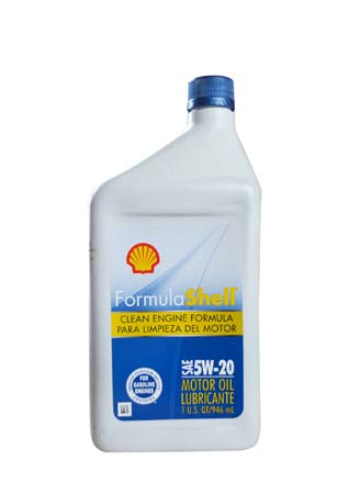 Моторное масло SHELL Formula Shell SAE 5W-20 (0,946л)