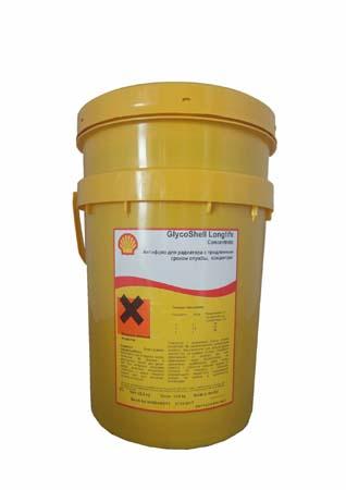 Антифриз концентрированный розовый SHELL Glyco Shell Longlife Concentrate (20л)