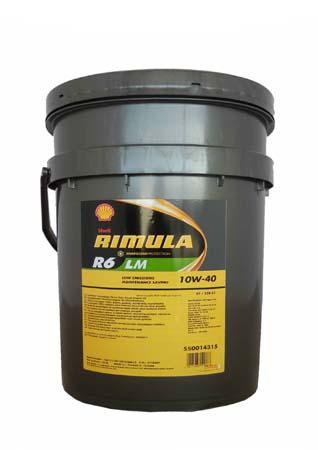 Shell Rimula R6 LM  10w40  ( 20л) масло моторное для диз. двигателей
