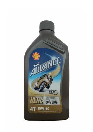 Моторное масло для 4-Такт SHELL Advance 4T Ultra SAE 10W-40 (1л)