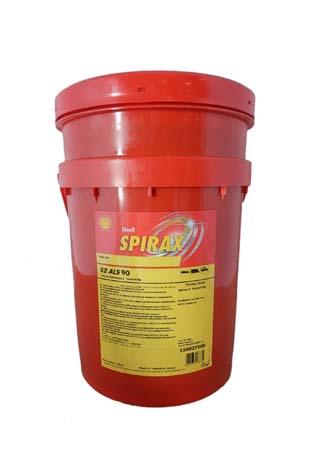 Трансмиссионное масло SHELL Spirax S2 ALS 90 (20л)