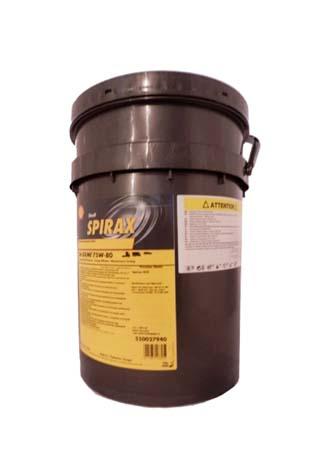 Трансмиссионное масло SHELL Spirax S6 GXME SAE 75W-80 (18,92л)