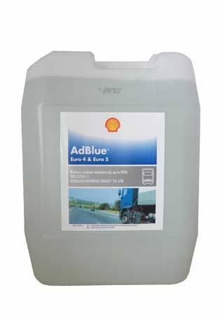 Жидкость для SCR-систем SHELL Adblue Euro4&Euro5 (20л)