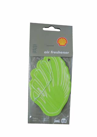 Освежитель воздуха на бумажной основе-дыня SHELL Airfreshener - Melon