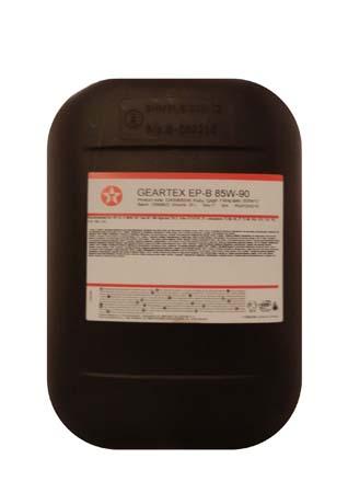 Трансмиссионное масло TEXACO Geartex EP-B SAE 85W-90 (20л)