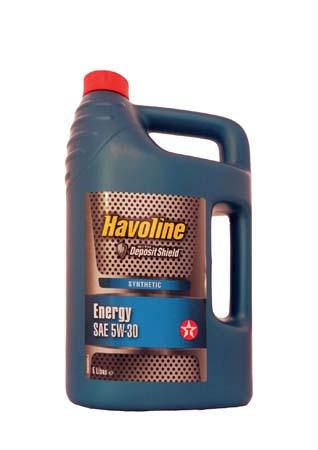 Моторное масло TEXACO Havoline Energy SAE 5W-30 (5л)