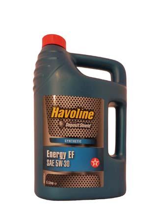 Моторное масло TEXACO Havoline Energy EF SAE 5W-30 (5л)