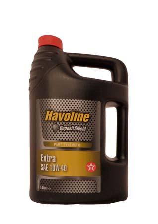 Моторное масло TEXACO Havoline Extra SAE 10W-40 (5л)