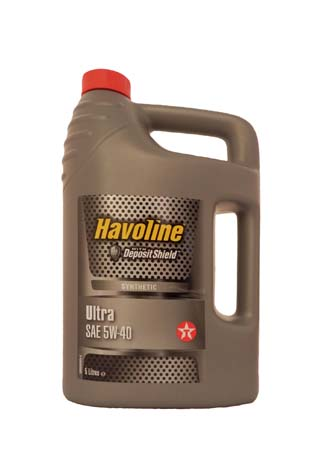 Моторное масло TEXACO Havoline Ultra SAE 5W-40 (5л)