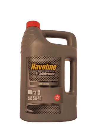 Моторное масло TEXACO Havoline Ultra S SAE 5W-40 (5л)