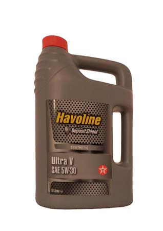 Моторное масло TEXACO Havoline Ultra V SAE 5W-30 (5л)