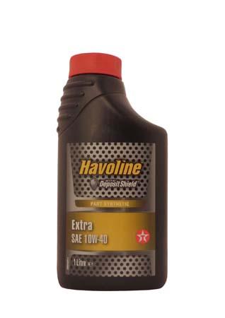 Моторное масло TEXACO Havoline Extra SAE 10W-40 (1л)