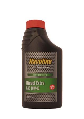 Моторное масло TEXACO Havoline Diesel Extra SAE 10W-40 (1л)