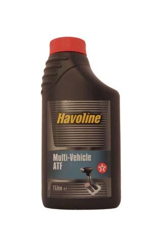 Трансмиссионное масло TEXACO Havoline MultiI-Vehicle ATF (1л)