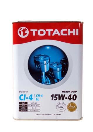 Моторное масло TOTACHI Heavy Duty CI-4/CH-4/SL SAE 15W-40 (6л)