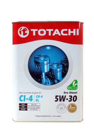 Моторное масло TOTACHI Eco Diesel Semi-Synthetic CI-4/CH-4/SL SAE 5W-30 (6л)