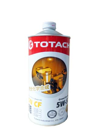 Моторное масло TOTACHI Grand Racing Fully Synthetic SN/CF SAE 5W-50 (1л)