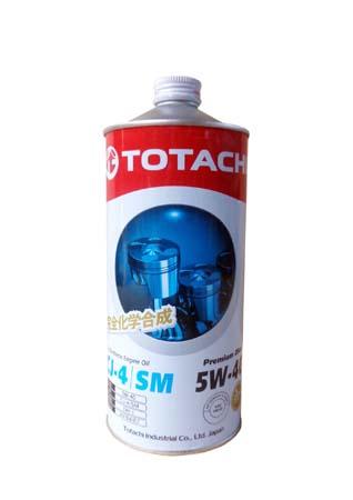 Моторное масло TOTACHI Premium Diesel Fully Synthetic CJ-4/SM SAE 5W-40 (1л)