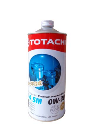 Моторное масло TOTACHI Premium Economy Diesel Fully Synthetic CJ-4/SM SAE 0W-30 (1л)