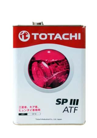 Трансмиссионное масло TOTACHI ATF SPIII (4л)