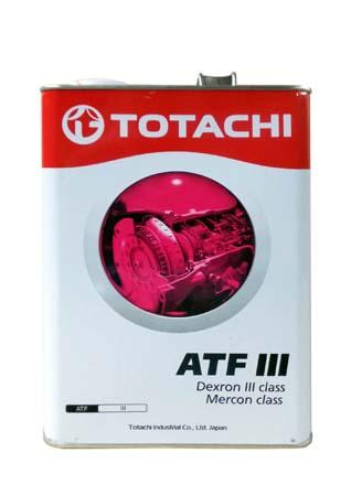 Трансмиссионное масло TOTACHI ATF Dexron-III (class) (4л)