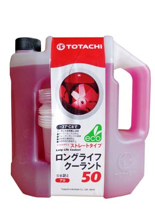Антифриз TOTACHI LLC Red 50% -37 (2л)
