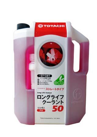 Антифриз TOTACHI LLC Red 50% -37 (4л)