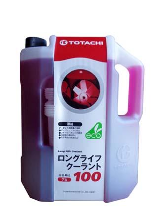 Антифриз TOTACHI LLC Red 100% (4л)