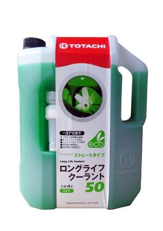 Антифриз TOTACHI LLC Green 50% -37 (4л)