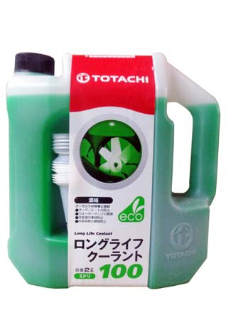 Антифриз TOTACHI LLC Green 100% (2л)