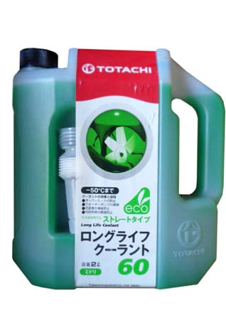 Антифриз TOTACHI LLC Green 60% -50 (2л)