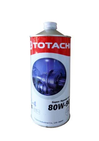 Трансмиссионное масло TOTACHI Super Hypoid Gear GL-4 SAE 80W-90 (1л)
