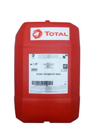 Моторное масло TOTAL RUBIA TIR 9200 FE, 5W-30, 20л, 126429