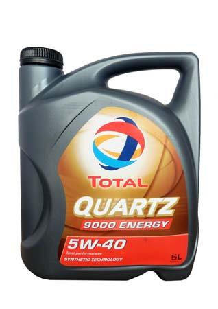 Моторное масло TOTAL QUARTZ 9000 ENERGY, 5W-40, 5л, 156812