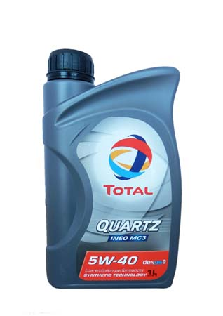 Моторное масло TOTAL QUARTZ INEO MC3, 5W-40, 1л, 174776