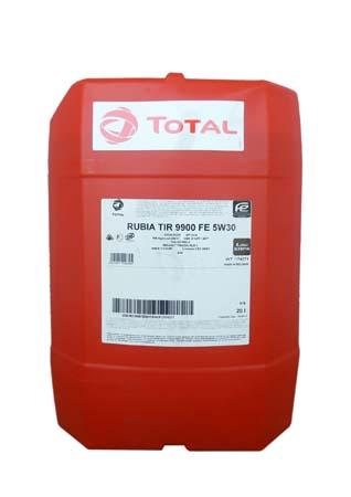 Моторное масло TOTAL Rubia TIR 9900 FE SAE 5W-30 (20л)