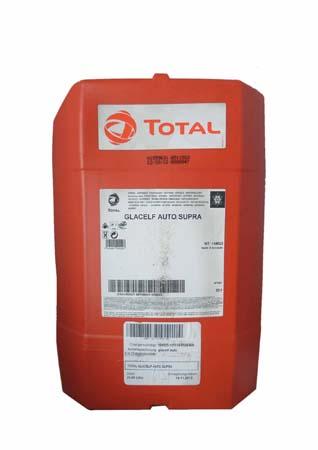 Антифриз концентрированный оранжевый TOTAL Glacelf Auto Supra (20л)