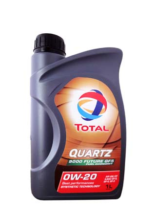 Моторное масло TOTAL QUARTZ 9000 FUTURE, 0W-20, 1л, 193627