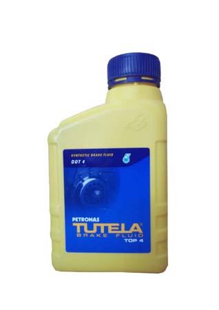 Тормозная жидкость TUTELA TOP 4 (0,5л)