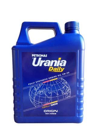 Моторное масло URANIA Daily SAE 5W-30 (5л)