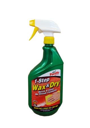 Полироль-Спрей для влажных поверхностей TURTLE WAX 1-Step Wax & Dry (0,769л)