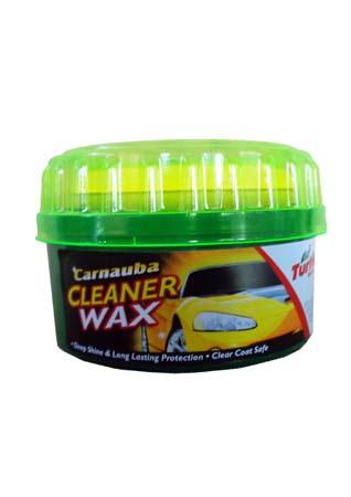 Очищающая паста с воском TURTLE WAX Carnauba Paste Wax (397гр)