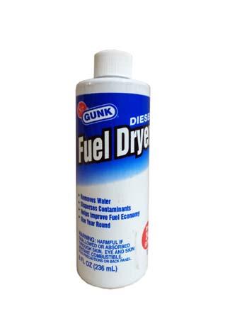 Присадка вытеснитель влаги из топлива GUNK Diesel Fuel Dryer (0,236)