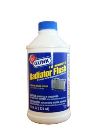 Промывка радиатора GUNK 10 Minute Flush (0,325л)