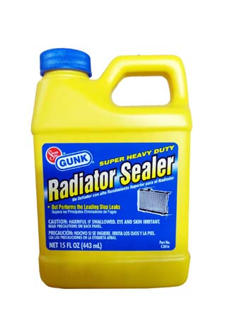 Герметик радиатора GUNK Super Radiator Sealer (0,443л)