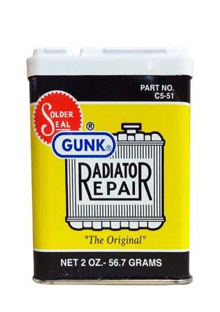 Герметик радиатора( порошок) GUNK Radiator Repair Powder (56,7гр)