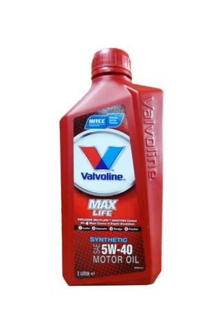 Моторное масло VALVOLINE Maxlife Synthetic SAE 5W-40 (1л)
