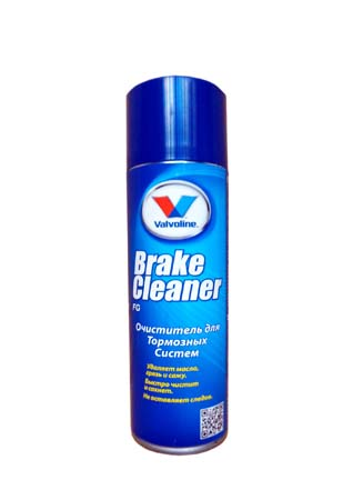Очиститель тормозов VALVOLINE Brake Cleaner FG (0,5л)